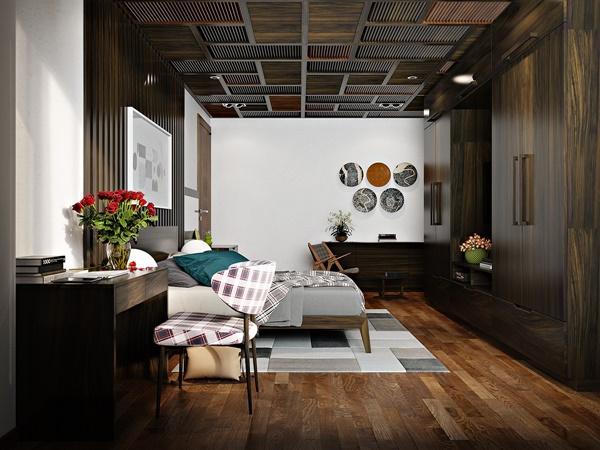 10 mẫu thiết kế nội thất phòng ngủ đẹp và hiện đại