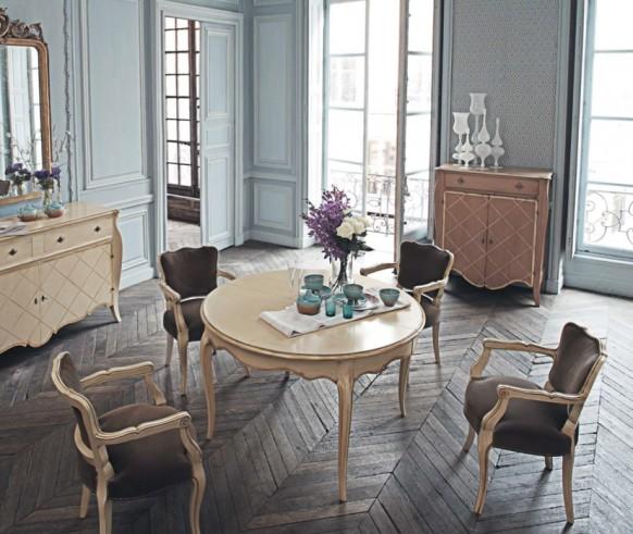 10 phòng ăn mộc mạc mà sang trọng mang phong cách cổ điển