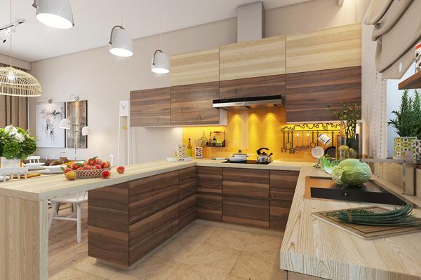 11 mẫu thiết kế bếp ăn ấn tượng với gam màu vàng tươi tắn