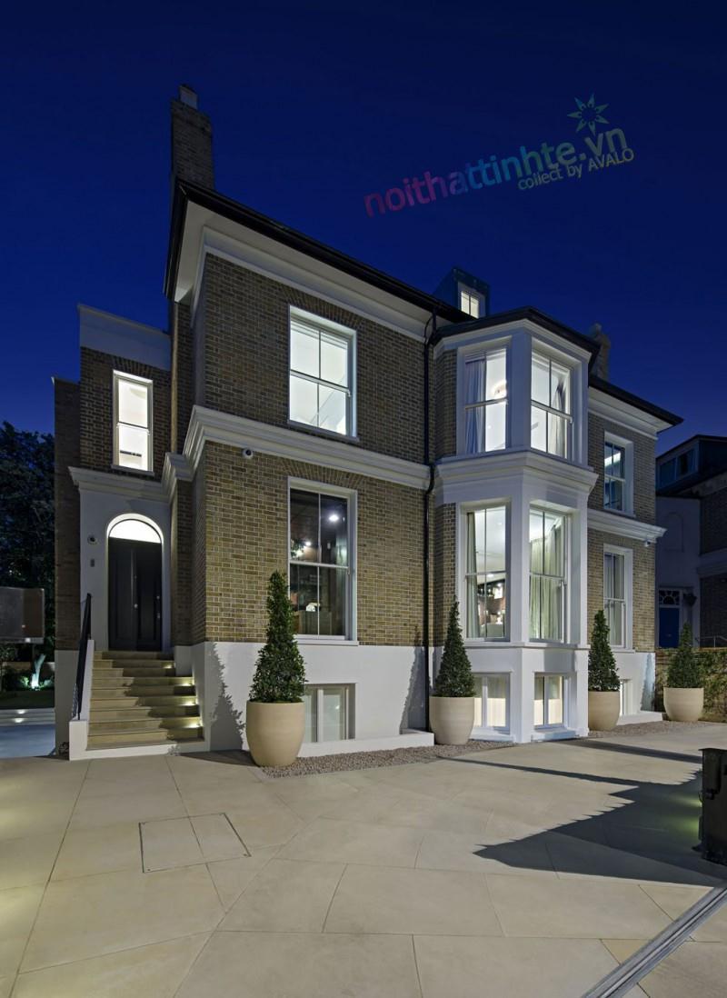 Thiết kế hiện đại nhà ở vùng ngoại ô
