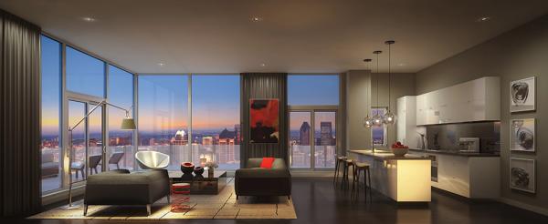 20 mẫu thiết kế nội thất phòng khách hiện đại
