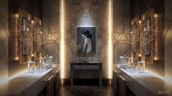 5 mẫu thiết kế nội thất phòng tắm siêu sang trọng đầy cuốn hút
