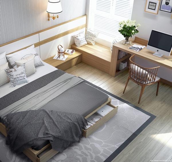 5 phòng ngủ đầy phong cách bất chấp diện tích hạn chế