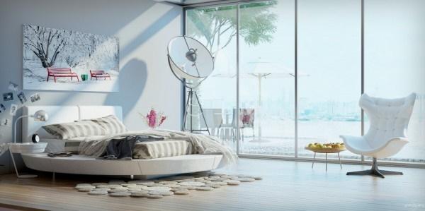 5 thiết kế nội thất phòng ngủ đẹp hiện đại