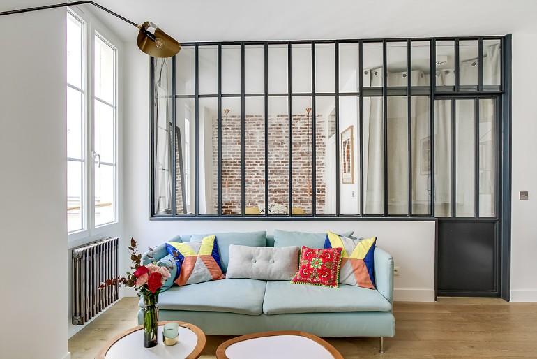 Ba mẫu nội thất phòng khách mở hiện đại