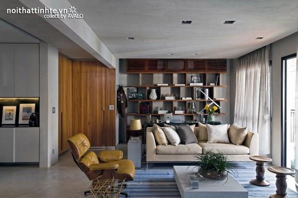 Cải tạo chung cư cũ thành nơi thoáng mát và thanh lịch