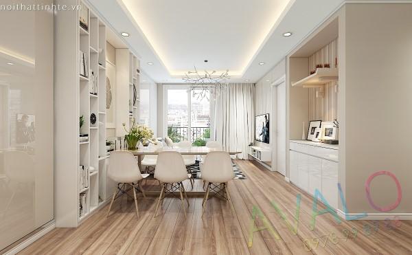 Hoàn thiện nội thất căn hộ Park Hill có hiện trạng không đẹp