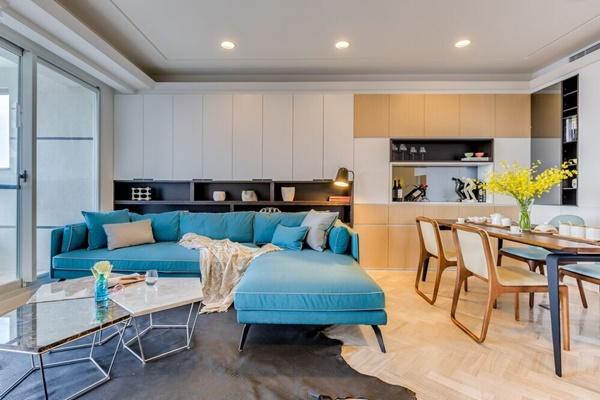 Bài trí nội thất khéo léo cho chung cư 60m2 tiện nghi