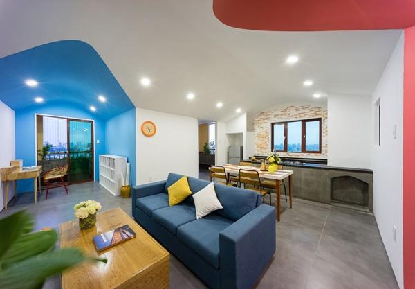 Không gian đa chiều của căn hộ chung cư Sài Gòn