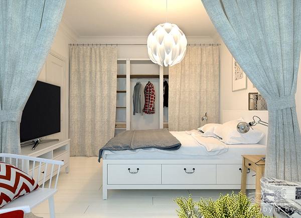 Thiết kế nội thất chung cư 65m2 với đầy đủ tất cả tiện nghi cho cặp vợ chồng trẻ