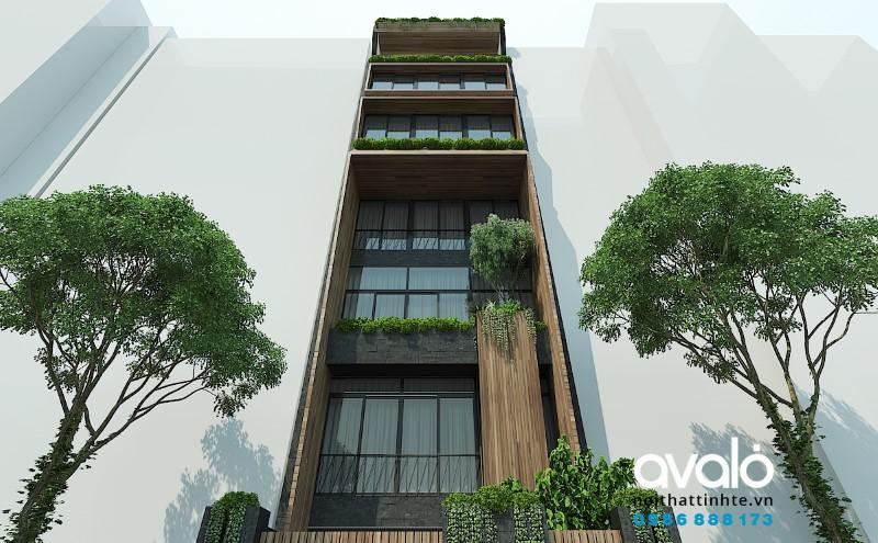 Nhà Phố đẹp 8 tầng HVQP