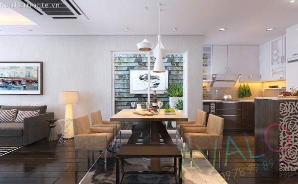 Mẫu thiết kế nhà bếp chung cư hiện đại AvaloB-2