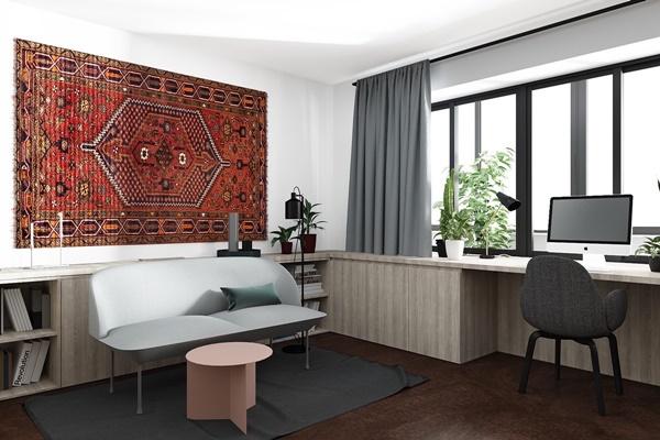 Nội thất chung cư 40m2 được thiết kế tiện nghi