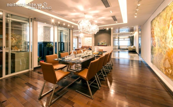 Nội thất đẹp Đương Đại của kiến trúc sư Đặng Minh Hải