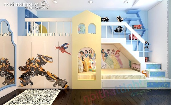 Nội thất phòng ngủ nhỏ AVALO