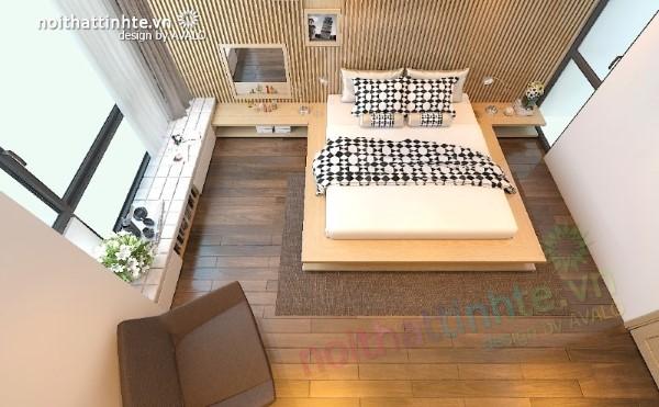 Phòng ngủ trẻ trung khác lạ - Cái Lân