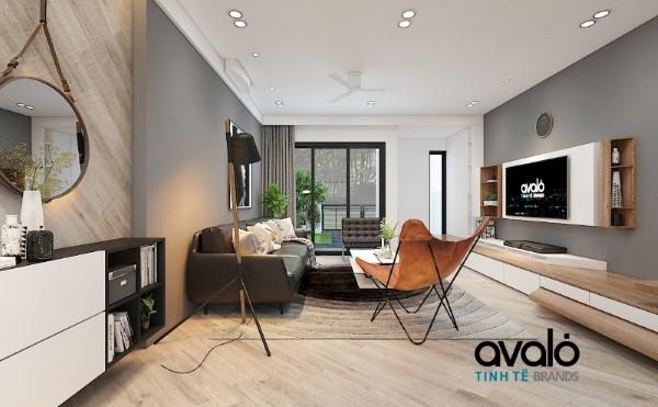 Thiết kế nội thất biệt thự Gamuda ST4 trẻ trung ấm cúng
