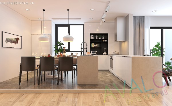 Thiết kế chung cư Home City với phong cách hiện đại trẻ trung