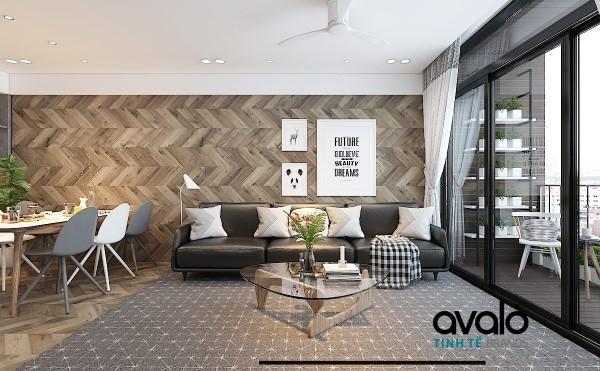 Thiết kế nội thất căn hộ 110m2 ở Sun Grand city ANCORA Residence Lương Yên