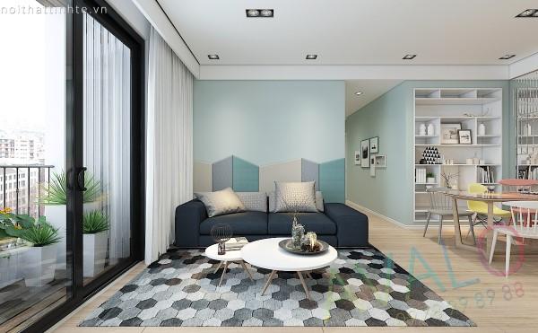 Thiết kế nội thất căn hộ Park Hill 100m2