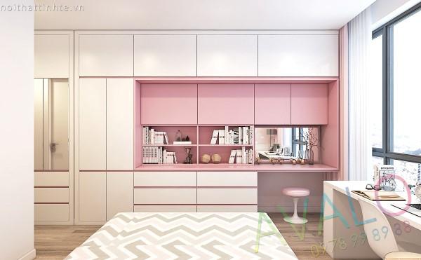 Thiết kế nội thất căn hộ Park Hill 97m2 tươi trẻ