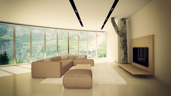 Thiết kế nội thất căn hộ hiện đại và tinh tế ở Bulgaria