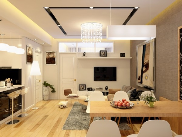 Thiết kế nội thất chung cư nhỏ sang trọng