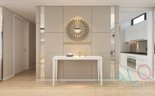 Thiết kế nội thất nhà chung cư Dolphin Plaza mới khiến gia chủ không nhận ra