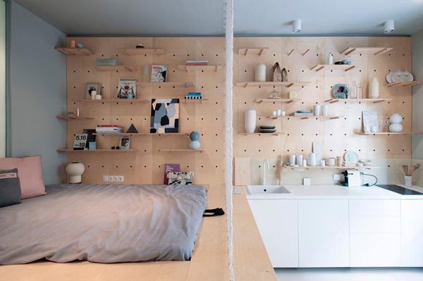 Thiết kế nội thất nhà nhỏ 30m2 đầy đủ tiện nghi
