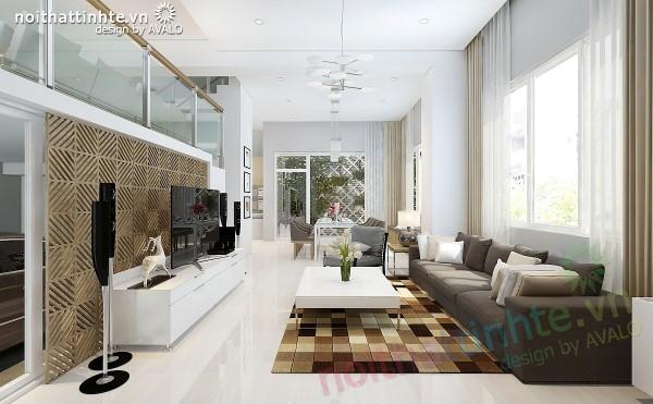 Thiết kế biệt thự 3 tầng Vinhomes Riverside Anh Đào