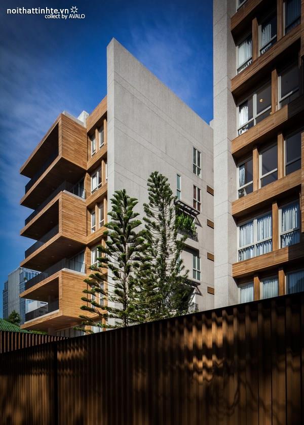 Thiết kế chung cư Pine Crest  hiện đại tại Singapore