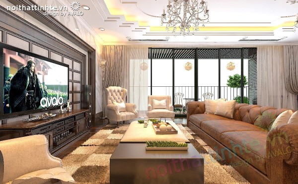 Thiết kế chung cư cao cấp Hà Đô Park view sang trọng lịch lãm