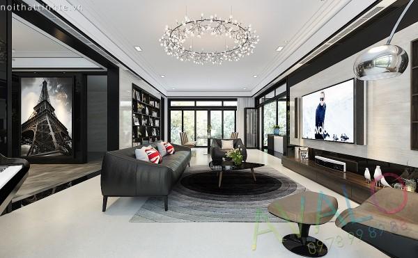 Thiết kế Hiện đại đầy sức hút của biệt thự Vinhomes Riverside