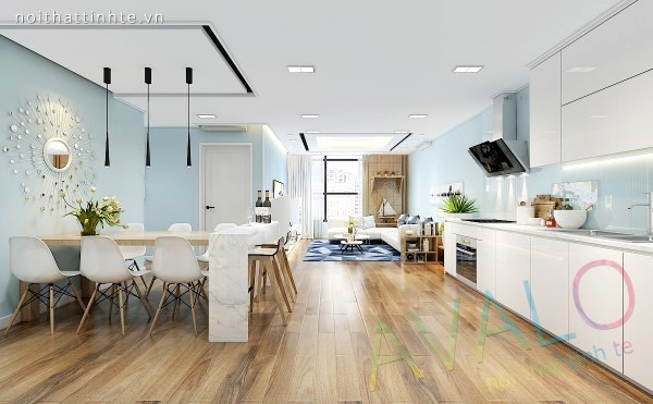 Thiết kế nhà chung cư Hiện Đại ở Thăng Long No1