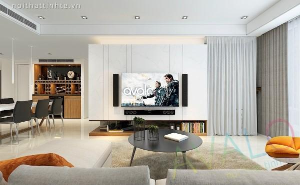 Thiết kế nội thất chung cư VP4 Linh Đàm