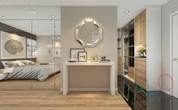 Vẻ đẹp phong cách nội thất Hiện đại chung cư 90m2 ở Golden West
