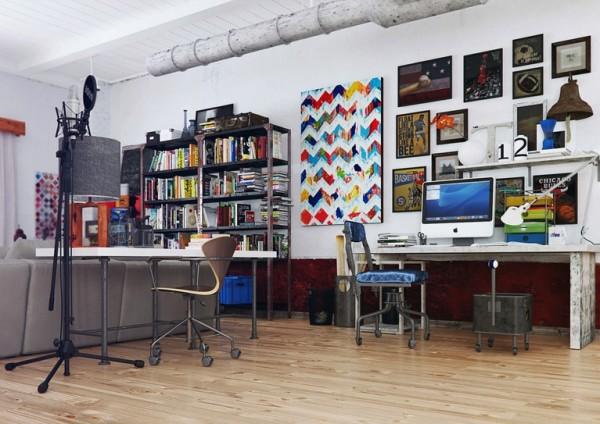 Thiết kế nội thất căn hộ ấn tượng đầy màu sắc và hình tượng