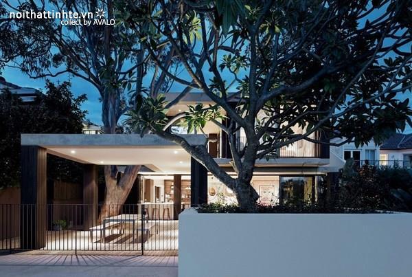 Biệt thự đẹp 2 tầng với không gian tự nhiên tuyệt vời