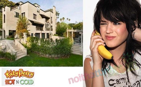 Biet thu phong cach co dien chau Au cua Katy Perry