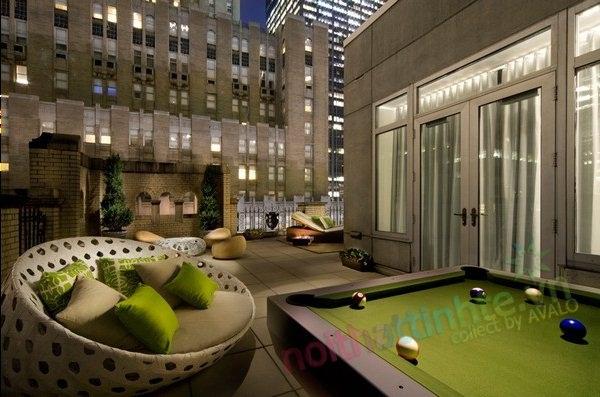 Không gian đẹp khách sạn W-Hotel