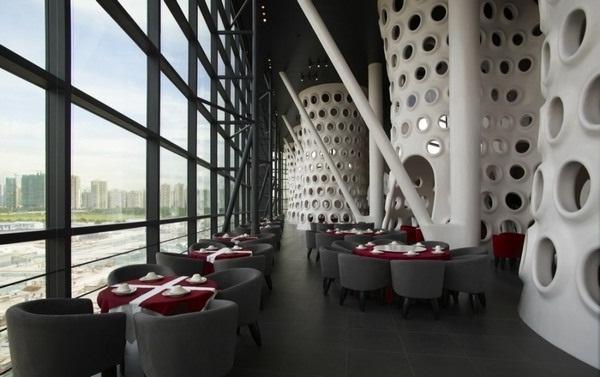 Không gian đẹp tòa nhà Honeycomb