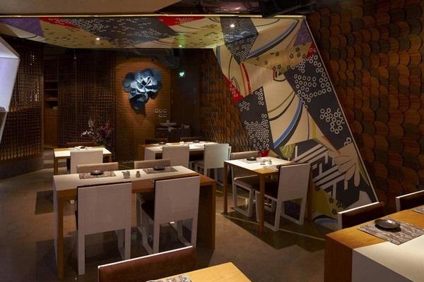 Không gian đẹp với nhà hàng Haiku Sushi