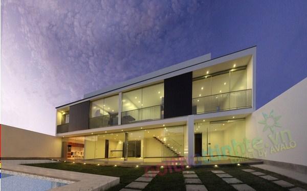 Không gian nhà đẹp 2 tầng | KTS Itara Arquitectos