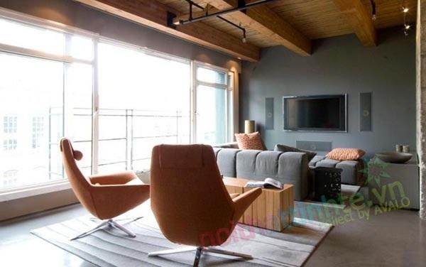Không gian nhà đẹp mang phong cách đương đại hỗn hợp  Kelly Reynolds
