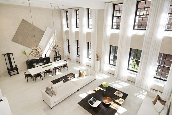 Không gian nội thất phòng khách rộng rãi và hiện đại hơn với thiết kế mở