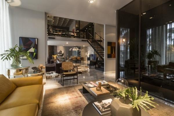 Không gian sang trọng của một căn hộ Loft
