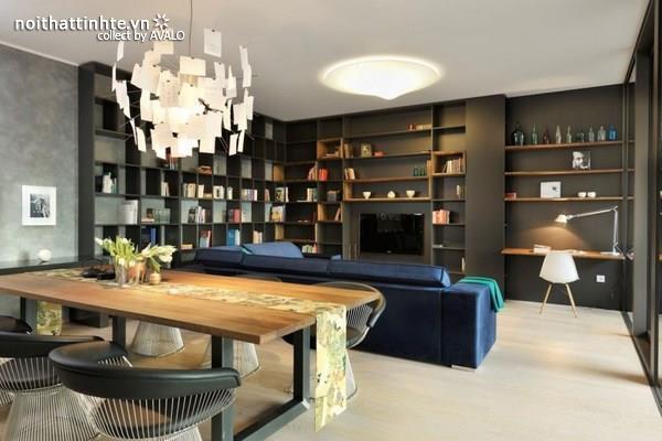 Một căn hộ hiện đại ở Barcelona – đầy cảm hứng từ phong cách thiết kế mang tính nghệ thuật