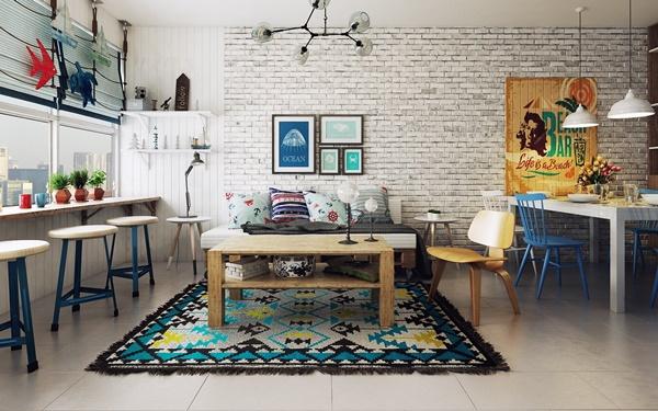 Lựa chọn phong cách thiết kế nội thất chung cư