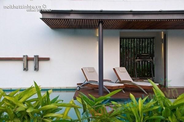 Mẫu biệt thự nhà vườn đẹp Anish Amin