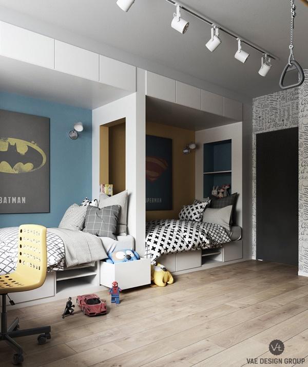 Mẫu chung cư hiện đại cho gia đình trẻ